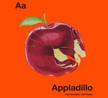 Aa - Appladillo // Half Armadillo, Half Apple Kids Clothes