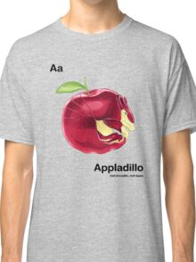 Aa - Appladillo // Half Armadillo, Half Apple Classic T-Shirt