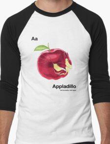 Aa - Appladillo // Half Armadillo, Half Apple Men's Baseball ¾ T-Shirt