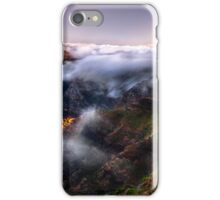Sunset Above the Clouds iPhone Case/Skin