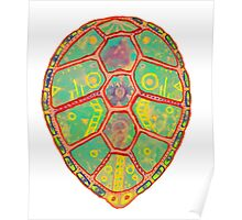 Psychedelic Turtle Poster