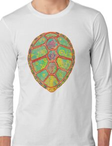 Psychedelic Turtle Long Sleeve T-Shirt