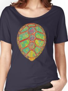 Psychedelic Turtle Women's Relaxed Fit T-Shirt