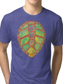 Psychedelic Turtle Tri-blend T-Shirt