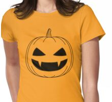Halloween - Jack o lantern transparant Womens Fitted T-Shirt