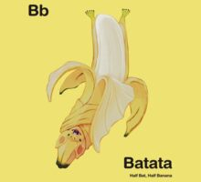 Bb - Batata // Half Bat, Half Banana Kids Clothes