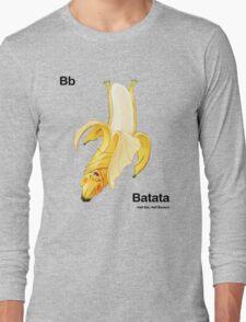 Bb - Batata // Half Bat, Half Banana Long Sleeve T-Shirt
