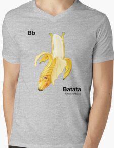 Bb - Batata // Half Bat, Half Banana Mens V-Neck T-Shirt