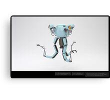 Mr Handy - 3D Model  Canvas Print