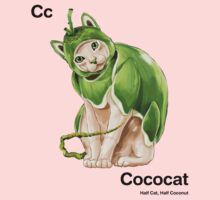 Cc - Cococat // Half Cat, Half Coconut Kids Clothes