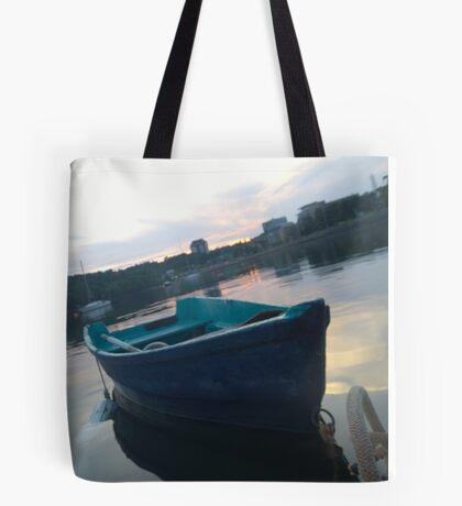.Boats In The Arm. Tote Bag