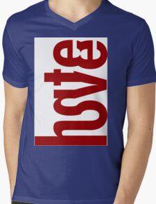 Love Hate merged v2 Mens V-Neck T-Shirt