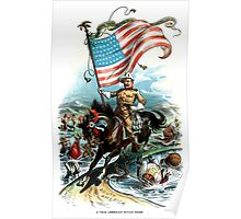 1902 Rough Rider Teddy Roosevelt Poster