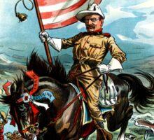 1902 Rough Rider Teddy Roosevelt Sticker