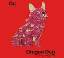 Dd - Dragon Dog // Half Dog, Half Dragon Fruit Baby Tee
