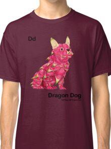 Dd - Dragon Dog // Half Dog, Half Dragon Fruit Classic T-Shirt