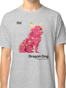 Dd - Dragon Dog // Half Dog, Half Dragon Fruit Classic T-Shirt