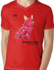 Dd - Dragon Dog // Half Dog, Half Dragon Fruit Mens V-Neck T-Shirt