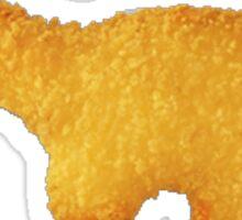 chicken nugget dinosaur Sticker