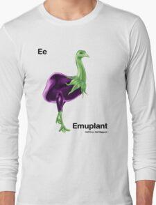 Ee - Emuplant // Half Emu, Half Eggplant Long Sleeve T-Shirt