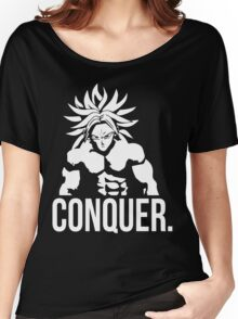 CONQUER - Broly As Mr. Olympia Women's Relaxed Fit T-Shirt