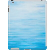 Abstract Seascape in Blue iPad Case/Skin