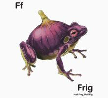 Ff - Frig // Half Frog, Half Fig Kids Clothes