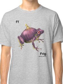 Ff - Frig // Half Frog, Half Fig Classic T-Shirt