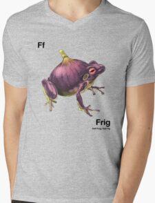Ff - Frig // Half Frog, Half Fig Mens V-Neck T-Shirt
