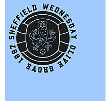 SWFC Supporters T-Shirt Olive Grove 1887 Logo Photographic Print