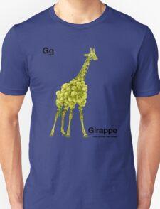Gg - Girappe // Half Giraffe, Half Grape T-Shirt
