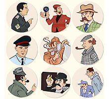 Detective Photographic Print