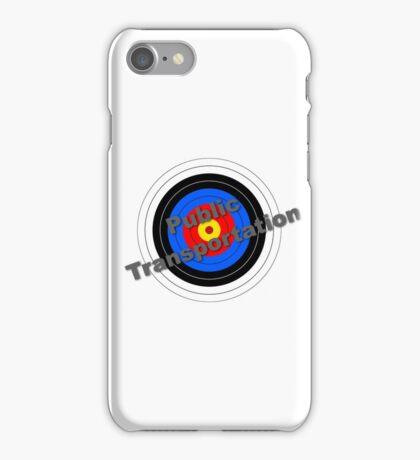 Public Transportation Target iPhone Case/Skin