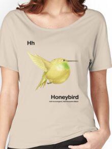 Hh - Honeybird // Half Hummingbird, Half Honeydew Melon Women's Relaxed Fit T-Shirt