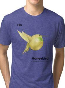 Hh - Honeybird // Half Hummingbird, Half Honeydew Melon Tri-blend T-Shirt