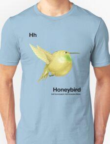 Hh - Honeybird // Half Hummingbird, Half Honeydew Melon Unisex T-Shirt
