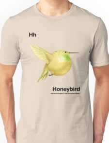 Hh - Honeybird // Half Hummingbird, Half Honeydew Melon Unisex T-Shirt