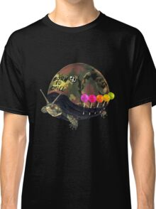 """Born to Chill"" Full Metal Snail Turtle Classic T-Shirt"