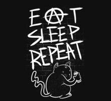 Eat Sleep Repeat Kids Tee