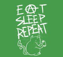 Eat Sleep Repeat One Piece - Short Sleeve
