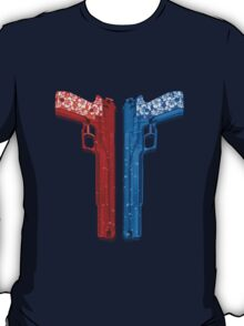 "Long Weekend ""Happy Songkran"" Pistol T-Shirt"