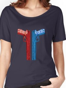 """Long Weekend """"Happy Songkran"""" Pistol Women's Relaxed Fit T-Shirt"""