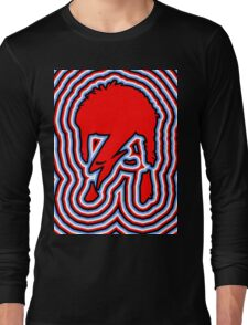 DAVID BOWIE - LIGHTNING BOLT Long Sleeve T-Shirt