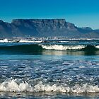 Bright New Morning over Table Mountain, Cape Town by SeeOneSoul