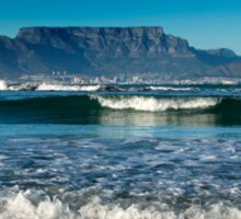 Bright New Morning over Table Mountain, Cape Town Sticker