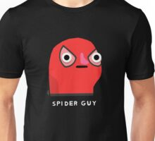 Spider guy (white text) Unisex T-Shirt