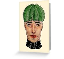Cactushead Greeting Card