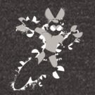 Cut Man Splattery Shirt/iPhone Case by thedailyrobot