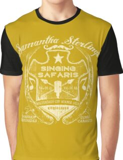 Samantha Sterling Singing Safaris Graphic T-Shirt