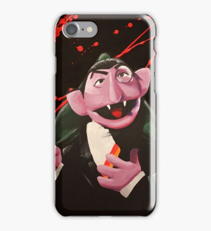 The Bloody Count iPhone Case/Skin